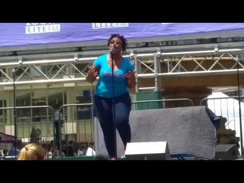 Broadway in Bryant Park: Waitress