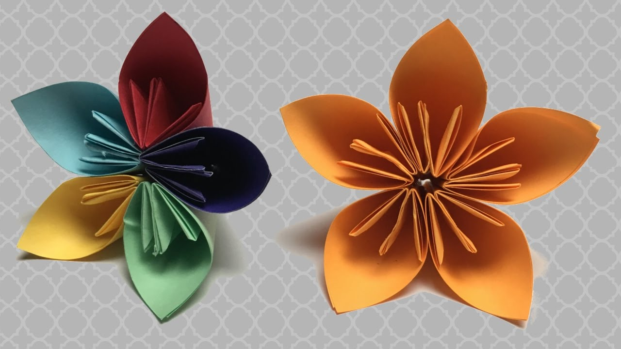 Fon Kartonundan Çiçek Yapımı