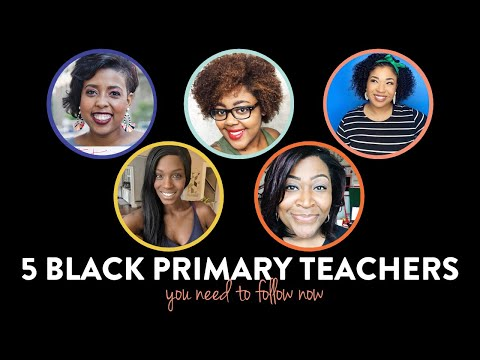 5 Black Educators to follow now | K-2 resources