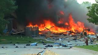 South Lincoln (NE)  House Explodes