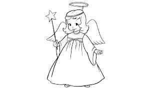 How to Draw an Angel / Как нарисовать ангела(Drawing Channel - https://www.youtube.com/channel/UCaZm6IvtL9zNeDwQi571asA/videos Канал для рисования ..., 2015-05-01T18:26:10.000Z)