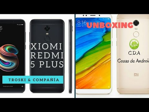 XIOMI REDMI 5 PLUS Unboxing