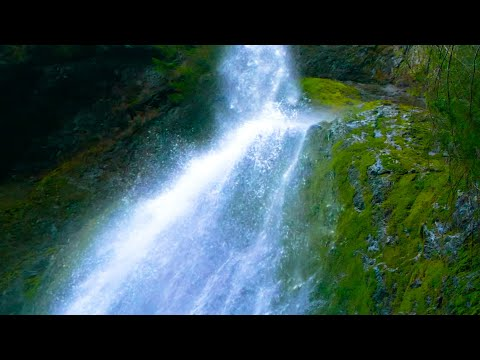 waterfall-sound-for-sleeping,-relaxation,-stress-relief-😊-white-noise-10-hours