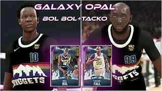 Galaxy Opal Bol Bol and Tacko Fall are UNSTOPPABLE || NBA 2k20 MyTeam Gameplay