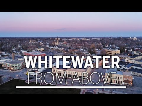 Whitewater From Above