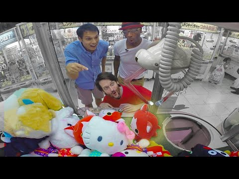 Crane Game Secrets Revealed: Japan's UFO Catcher Academy ★ ONLY in JAPAN