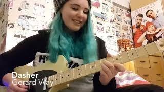 Gerard Way - Dasher guitar cover