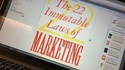 THE 22 IMMUTABLE LAWS OF MARKETING by Al Ries & Jack Trout