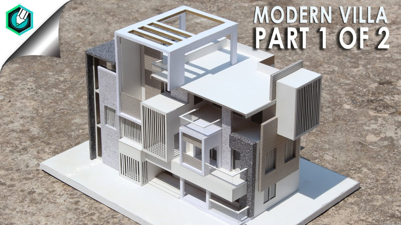 Modern Villa Modern Villa 2 How To Make Realistic Villa House Part 1 Of 2