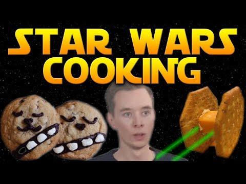 "Star Wars ""Cooking Show"" LIVE - Charity Stream /w Videohjälpen 2017!"