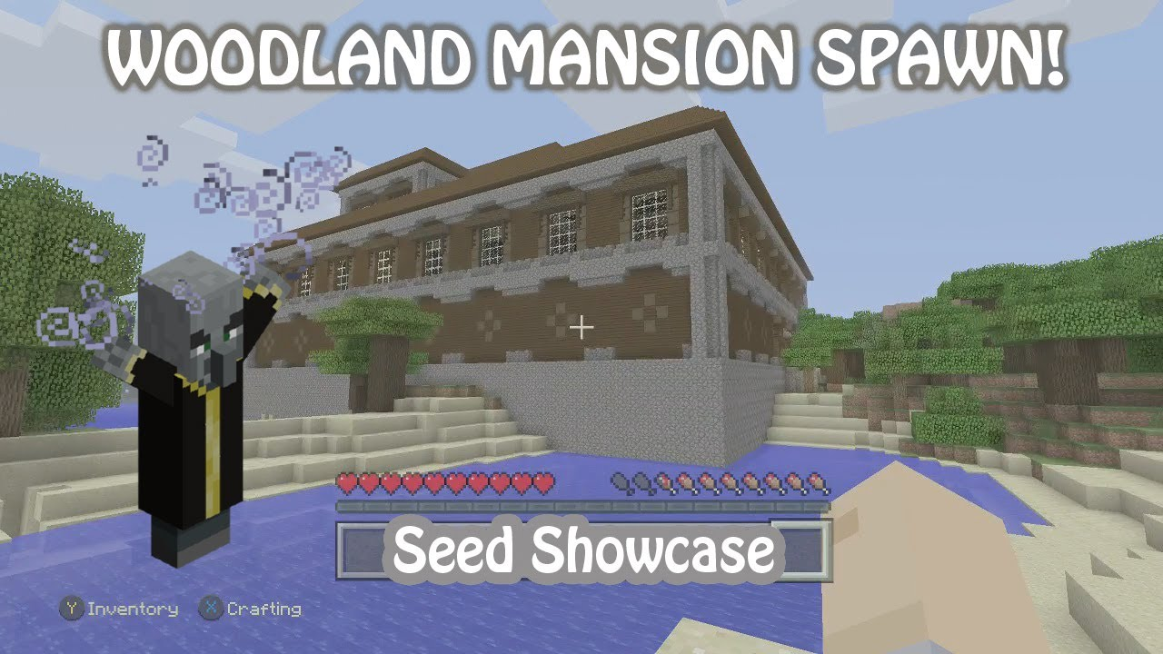 How to find a woodland mansion in minecraft xbox 360