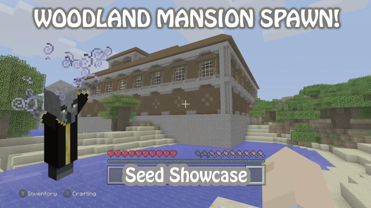 Minecraft xbox one woodland mansion spawn seed tu54 ps4 switch
