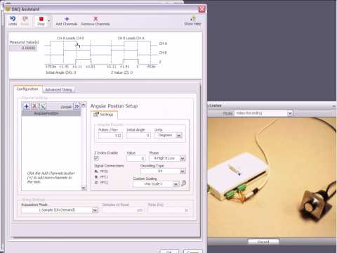 Acquiring from an Encoder
