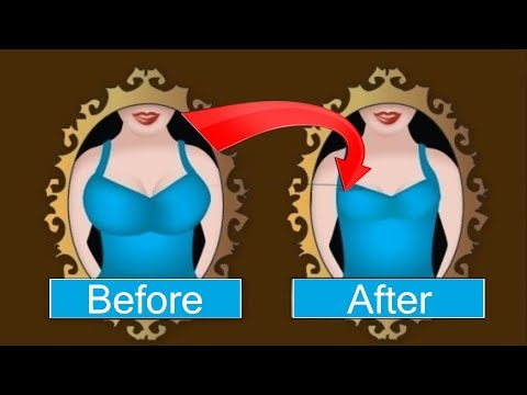 How To Reduce Breast Size At Home स तन क आक र क स घट ए Yoga Home Remedies Youtube