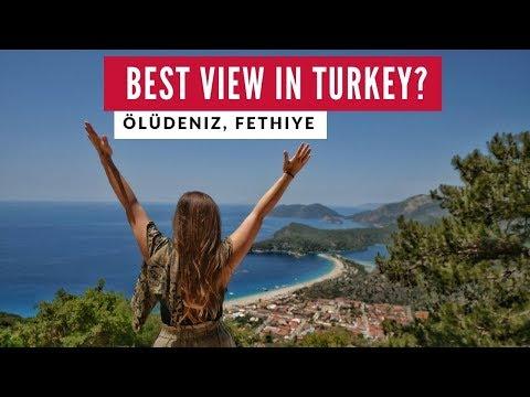 Blue Lagoon Epic View   Oludeniz Fethiye Turkey   Full Time World Travel Vlog 2