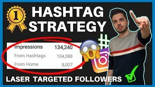 ULTIMATE IN-DEPTH INSTAGRAM HASHTAG STRATEGY TO GET MORE FOLLOWERS IN 2019