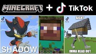 The Craziest & Most Stupid Tik Tok Minecraft Videos Compilation! (Part 10)