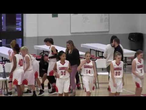 Hoisington Middle School Girls 7th Grade vs Liberty MS (Pratt) 11/26/18