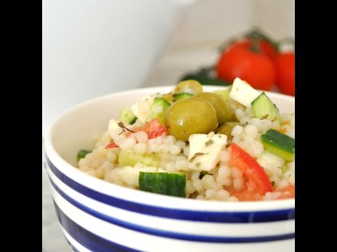 Fresh And Healthy Couscous Salad By Cooking With Manuela
