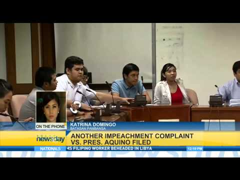 Another Impeachment Complaint VS. President Aquino Filed