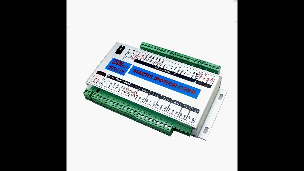 xhc mk4 CNC Motion Control Card Breakout Board