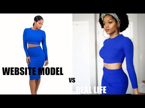 REAL LIFE VS FASHION MODEL ft HONEYBUM & SHEIN | Luchi Loyale