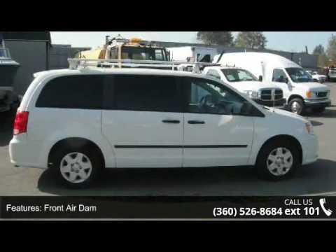 2011 Dodge Grand Caravan C/V Cargo Van with Roof Rack - R...
