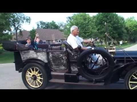 1908 Packard Model 30 with Engine Start Up and We Take a Ride on My Car Story with Lou Costabile