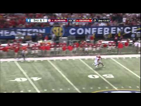12/01/2012 Georgia vs Alabama Football Highlights