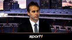 Emotionale Vorstellung von Trainer Julen Lopetegui bei Real Madrid | SPORT1