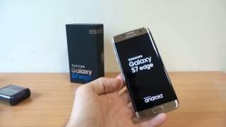 Samsung Galaxy S7 edge kezdeti lépések