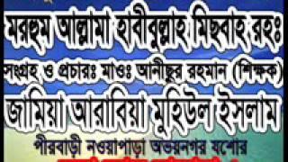 Noapara Madrasa Bangla Waz Allama Habibullah Misbah (Sura bakara-2)