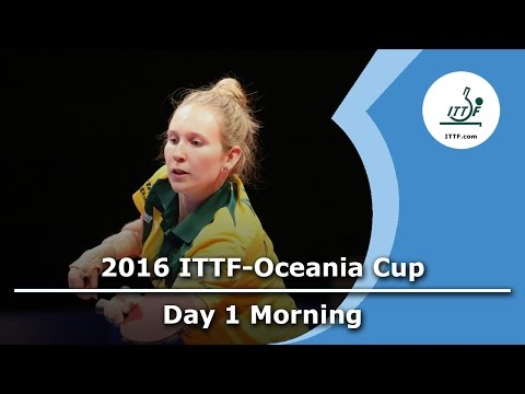 2016 ITTF-Oceania Cup - Day 1 Morning