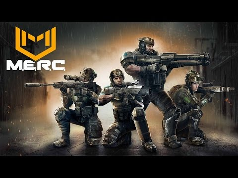 M.E.R.C. - Squad-based Real Time Tactics (MERC Gameplay)
