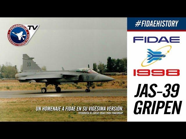 Saab Jas-39 Gripen en FIDAE 1998, Proyecto F2000 FACH, Incredible demostration