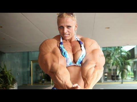 FEMALE BODYBUILDING,- KRISTINA NICOLE, IFBB MUSCLE, WORKOUT FITNESS MODEL,
