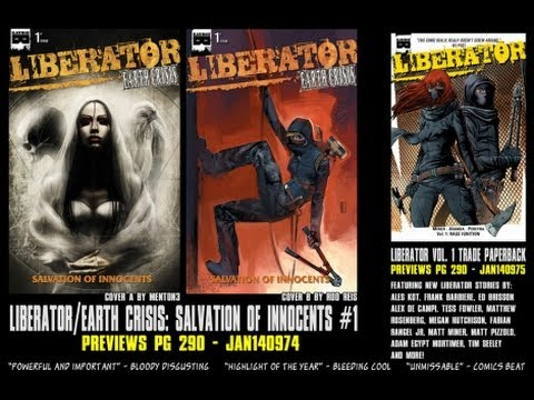 Comic Review: Liberator Earth Crisis Issue #1