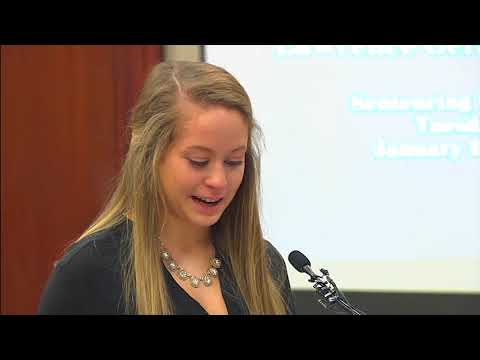 "Larry Nassar says ""I'm sorry"" to victim as she addresses him"