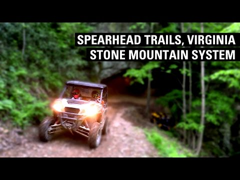 Fisher's ATV World - Spearhead Trails, Virginia - Stone Mountain System (FULL)