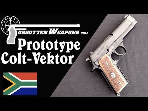 Prototype Colt-Vektor: A 1911 on the Outside and a Beretta on the Inside