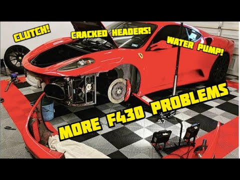 **We saved $3000 with a DIY REBUILD TRICK!!** FERRARI F430 Oil & Water Pump