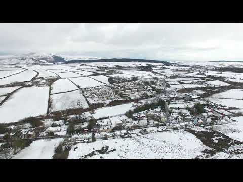 Snow on the Isle of Man by Drone 9.12.17