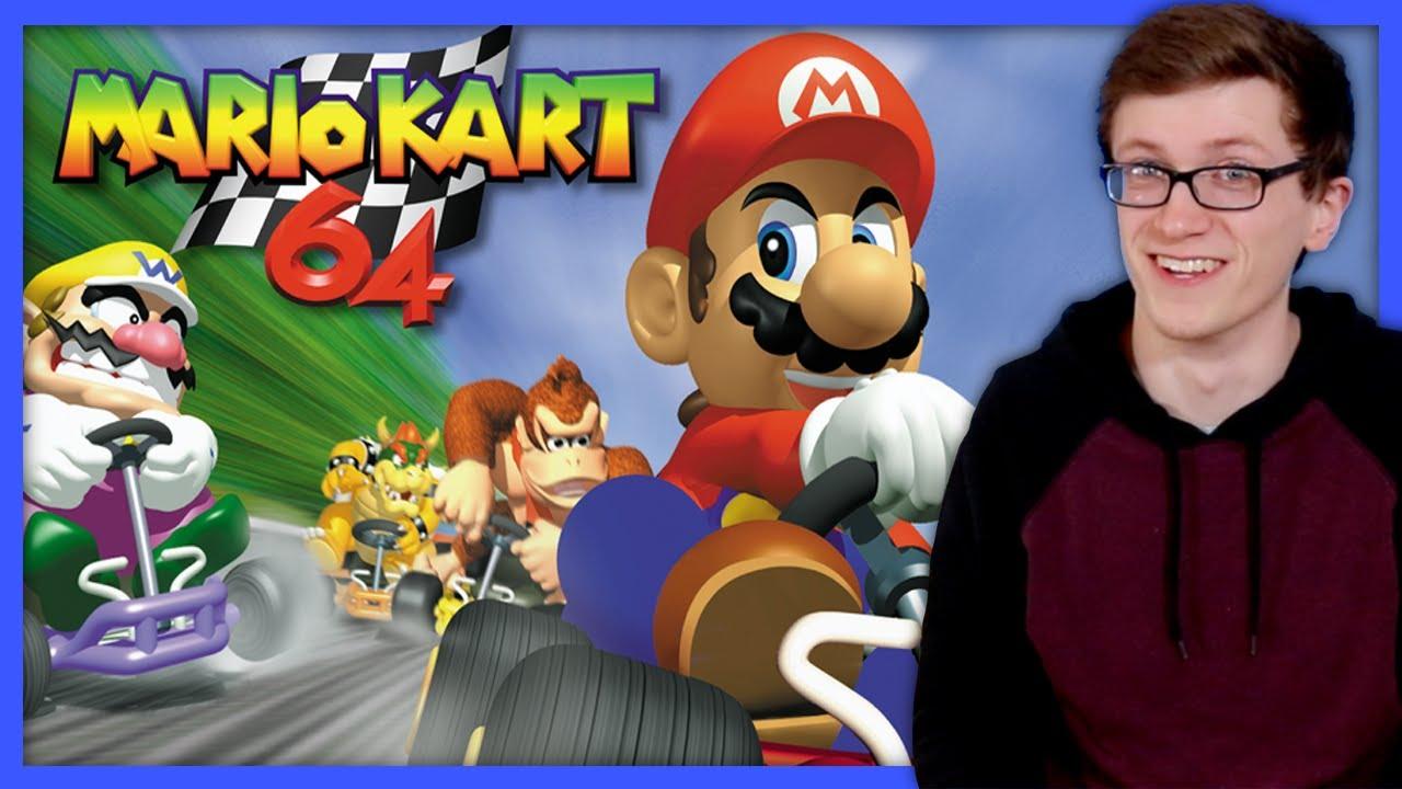 Mario Kart 64 | Der ursprüngliche König von Kart - Scott The Woz + video