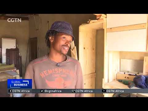 South African entrepreneur creates unique furniture from used wood