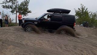 Универсал против внедорожников по песку! Lexus LX 470, Discovery 4, Terrano 2, Carib, Pajero, УАЗ