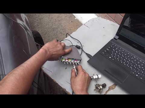 Как проверить угол опережения мотор-тестером Диамаг2
