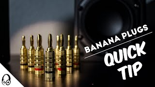 How To Wire Banana Plugs | Quick Tip | Monoprice