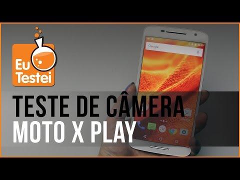 Teste de câmera e mídias Moto X Play XT1563 - Vídeo EuTestei Brasil