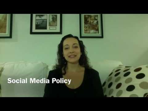 Social Media Policy for Therapists