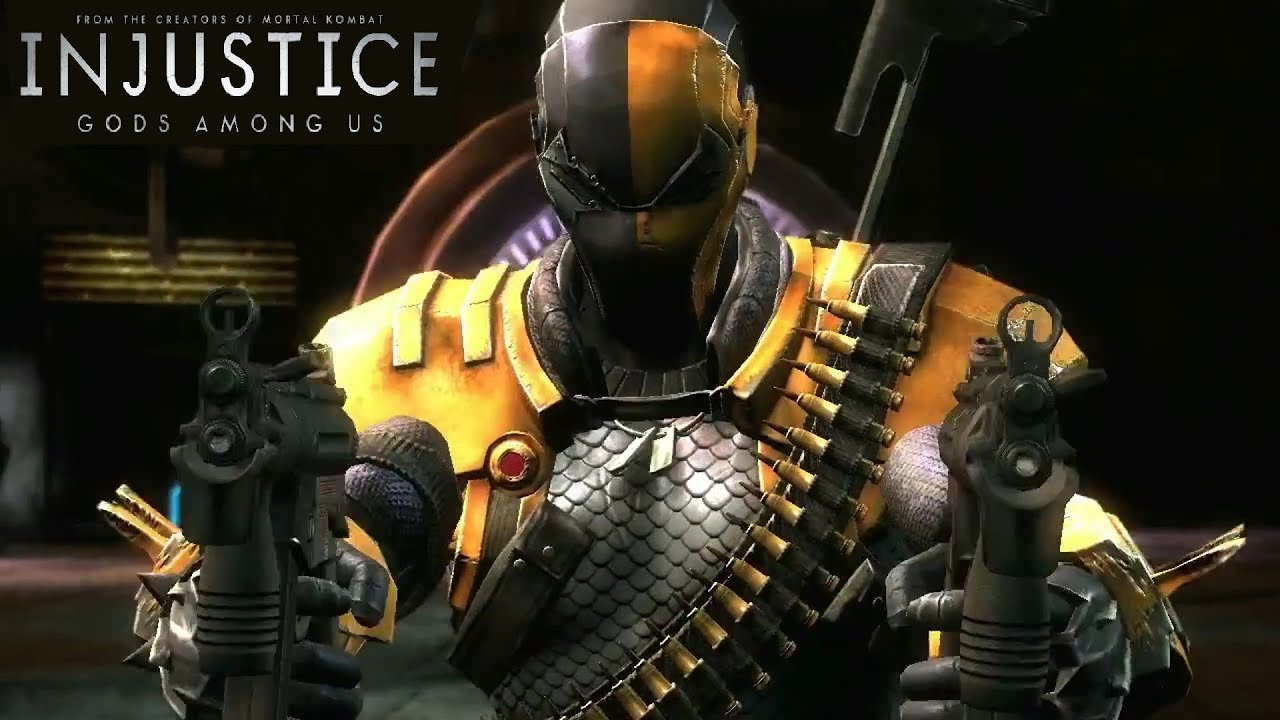 Injustice: Deathstroke Reveal (PS3/XBOX360/WiiU) 【HD ...